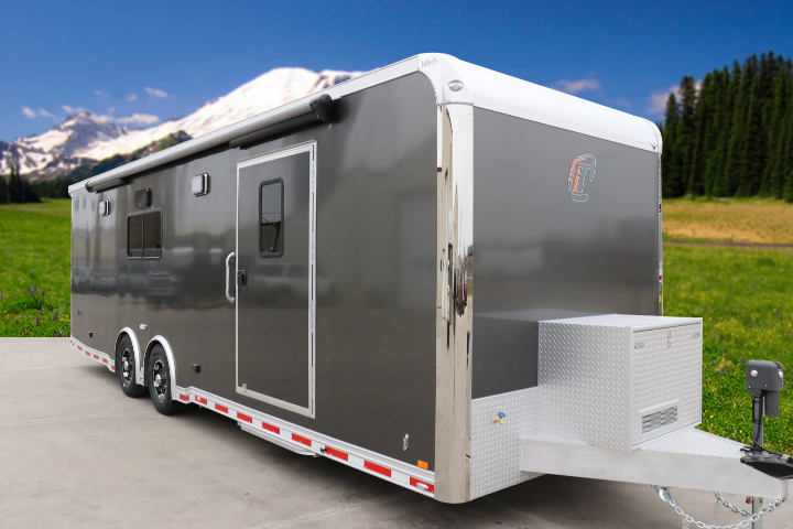 Tag Flat Nose Car Hauler Custom Motorsports Bath Package