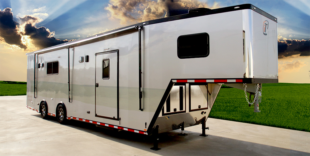 inTech All Aluminum Gooseneck Trailers