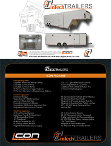 inTech iCon Trailers Brochure